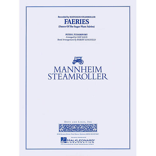 Mannheim Steamroller Faeries from The Nutcracker Concert Band Level 3-4 by Mannheim Steamroller Arranged by Robert Longfield thumbnail