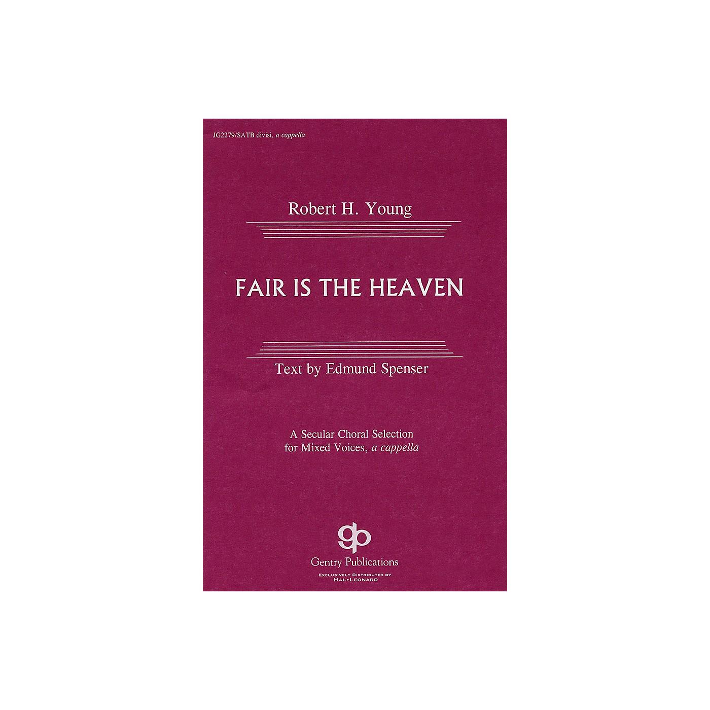 Gentry Publications Fair Is the Heaven SATB thumbnail