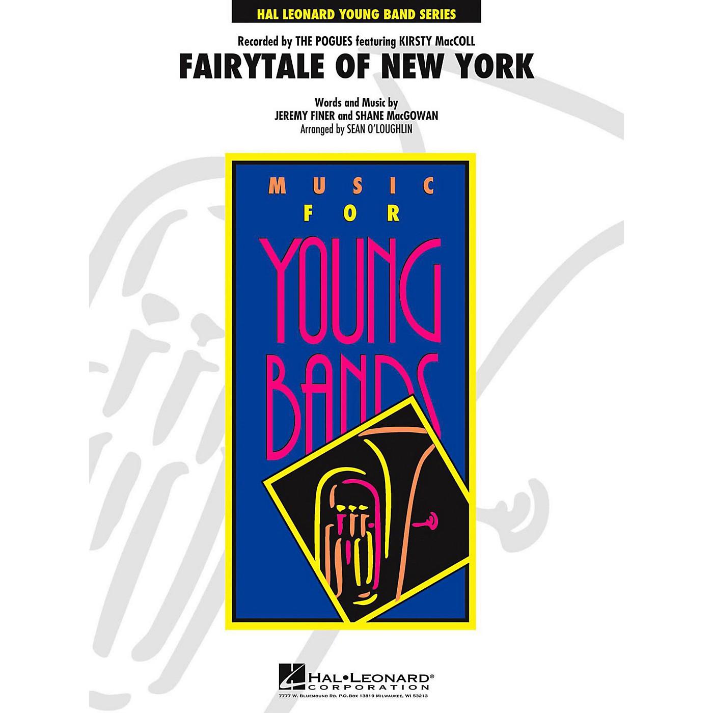Hal Leonard Fairytale of New York Concert Band Level 3 thumbnail