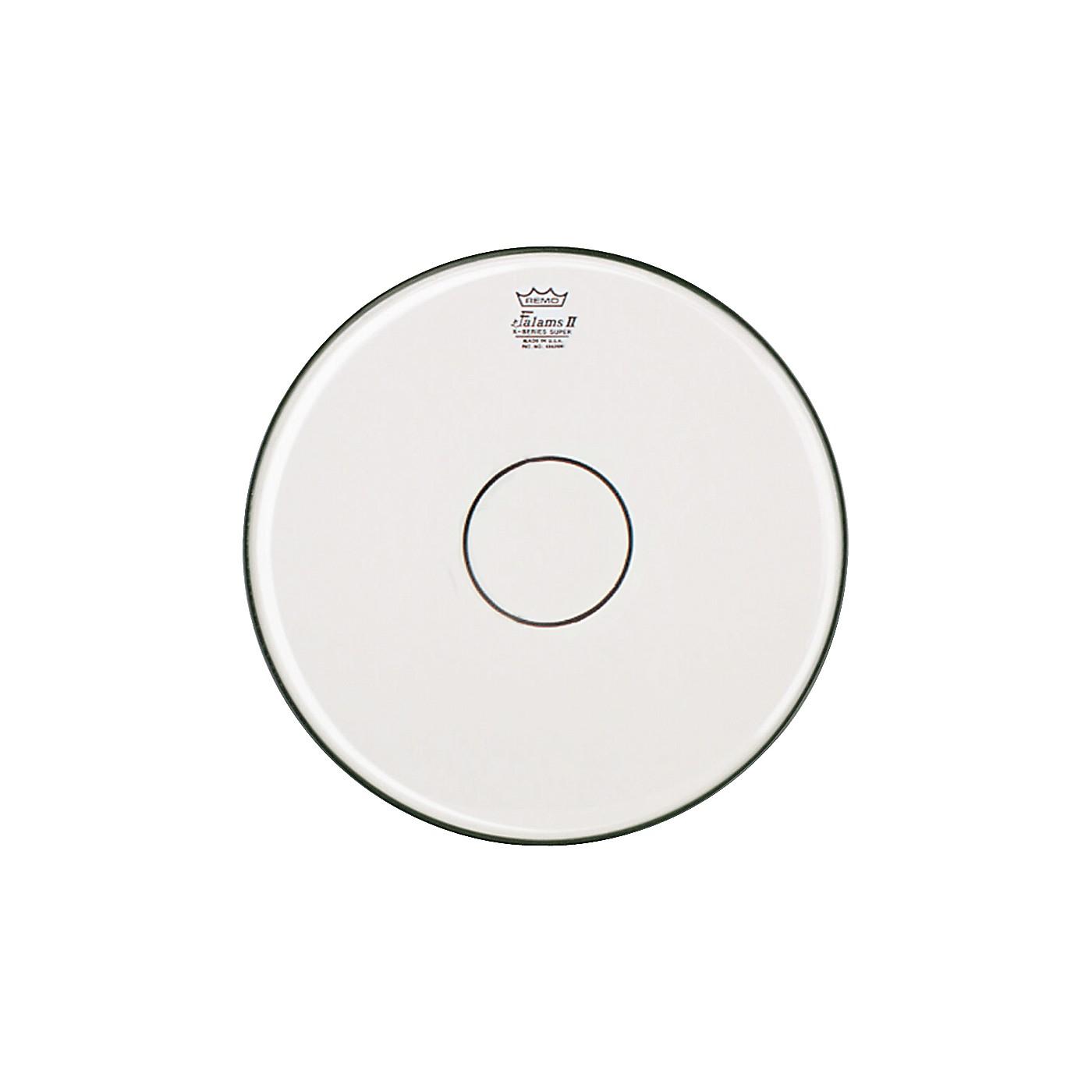 Remo Falam K-Series Clear Dot Batter Drum Head thumbnail