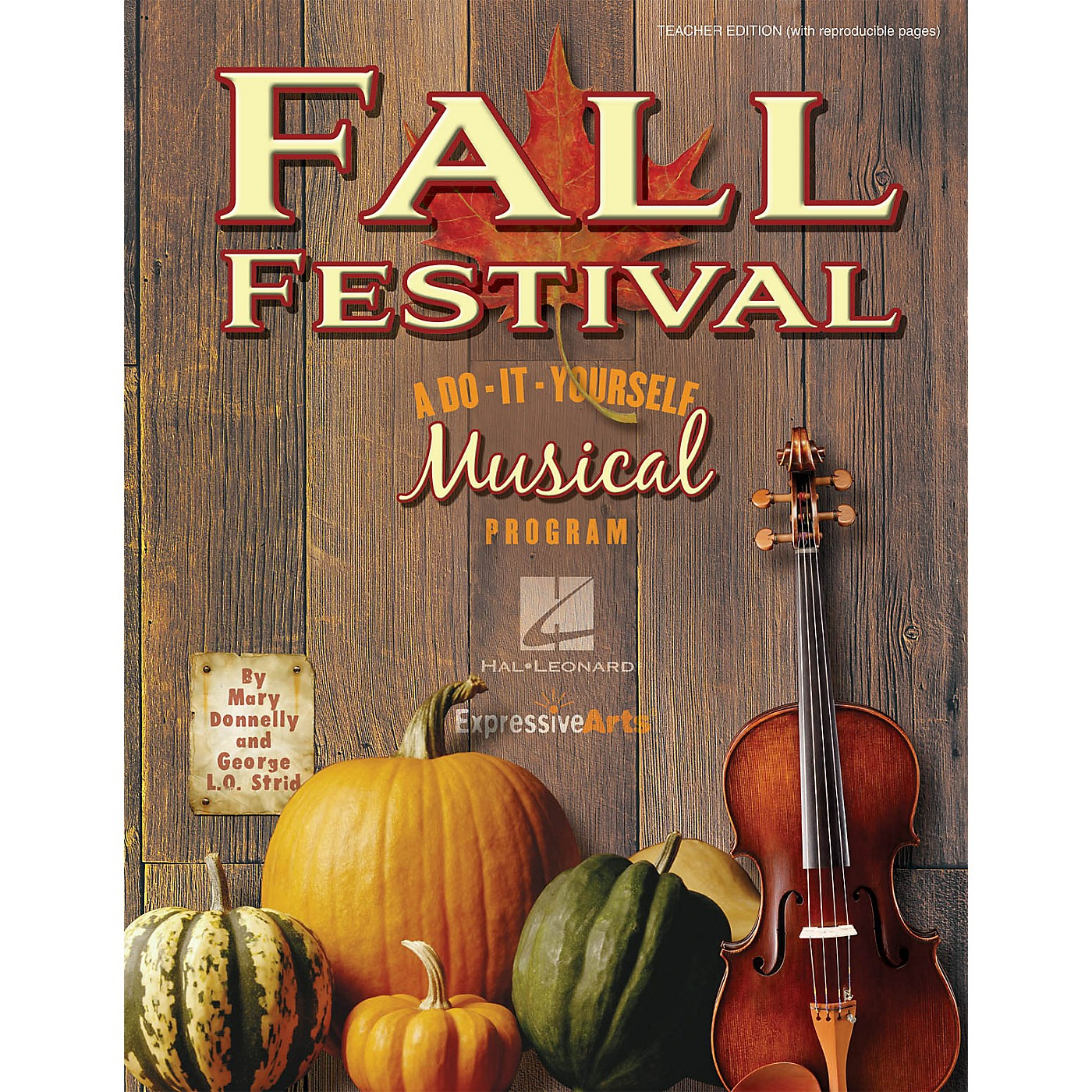 Hal Leonard Fall Festival (A Do-It-Yourself Musical Program) Accompaniment CD Composed by Mary Donnelly thumbnail