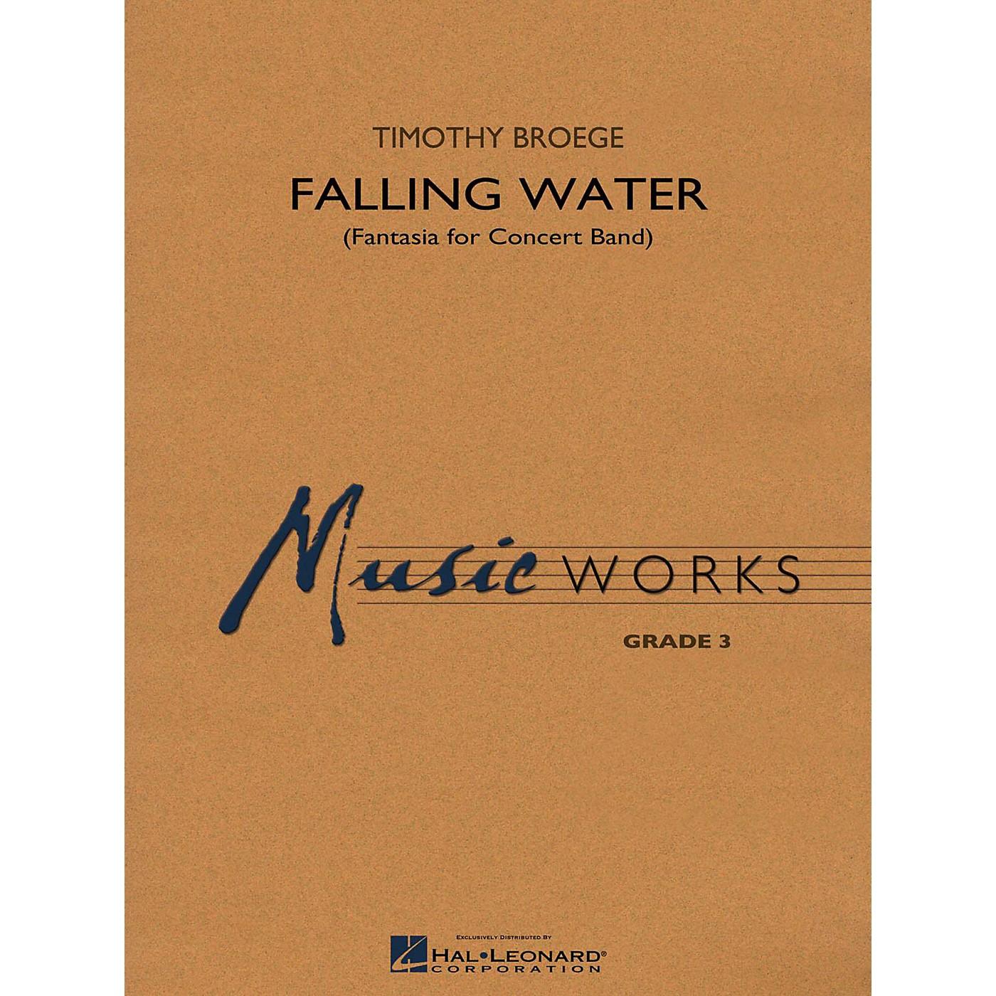 Hal Leonard Falling Water Concert Band Level 3 thumbnail