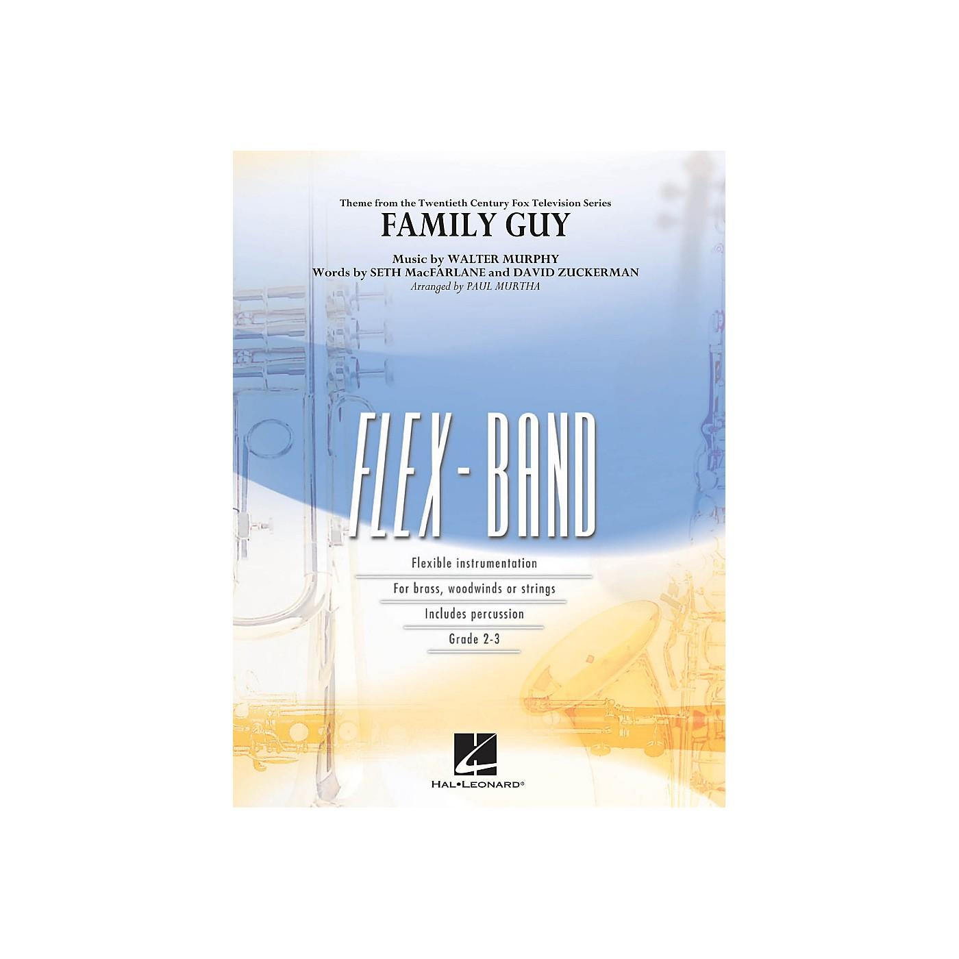 Hal Leonard Family Guy (Theme) - Flex-Band Series thumbnail