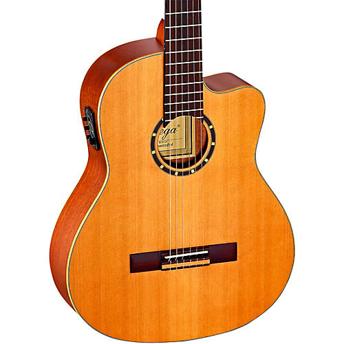 Ortega Family Series Pro RCE131 Acoustic-Electric Classical Guitar thumbnail