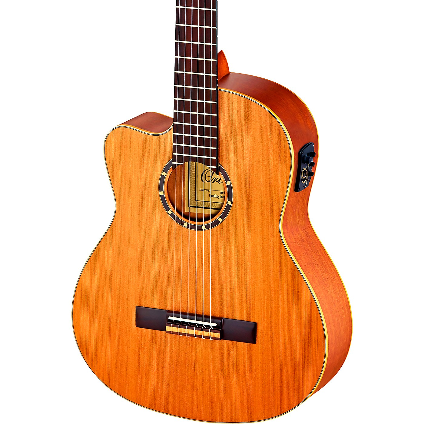 Ortega Family Series Pro RCE131 Acoustic-Electric Left-Handed Classical Guitar thumbnail