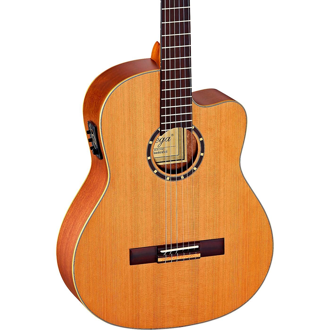 Ortega Family Series Pro RCE131 Acoustic-Electric Slim Neck Nylon String Guitar thumbnail