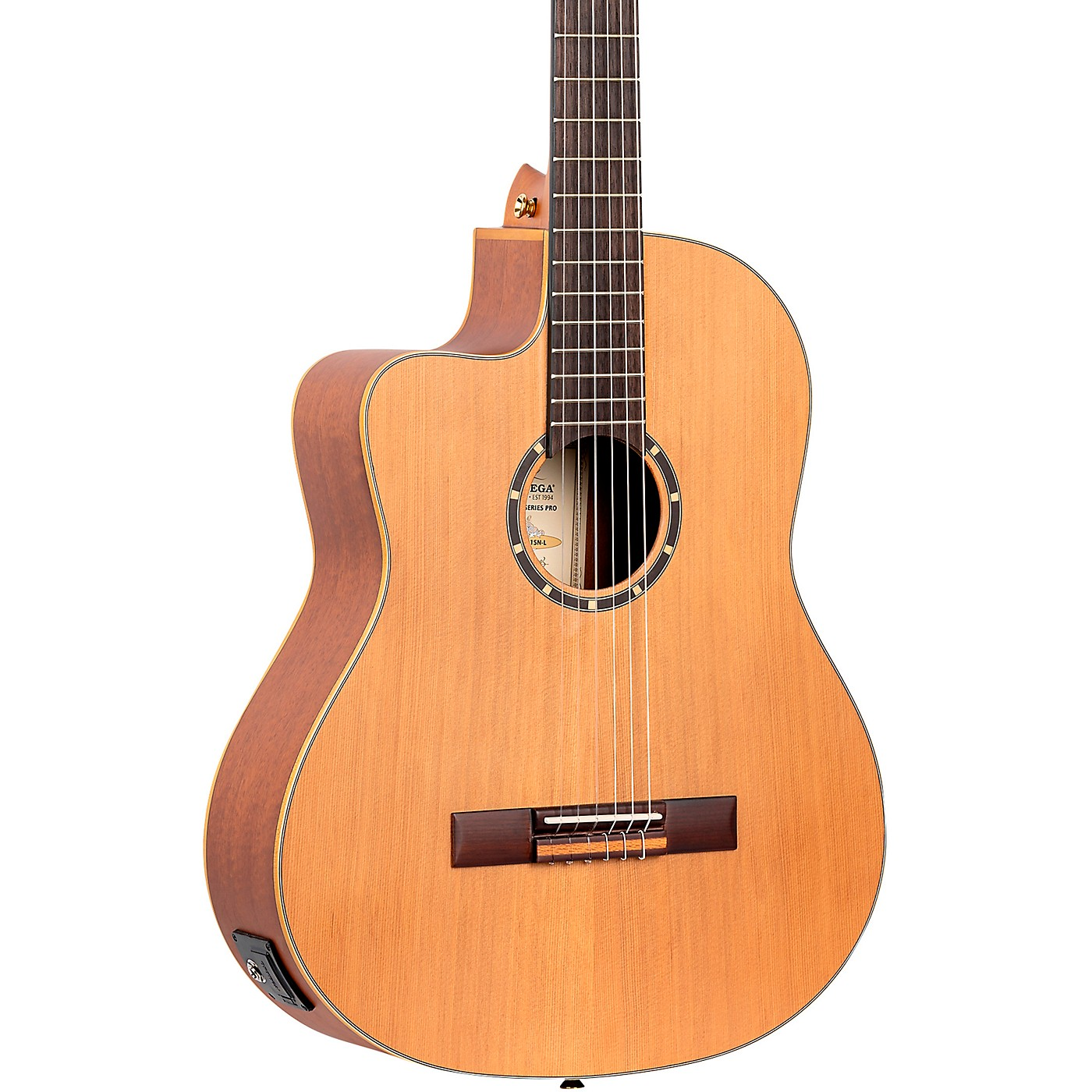 Ortega Family Series Pro RCE131SN-L Acoustic Electric Slim Neck Classical Guitar thumbnail