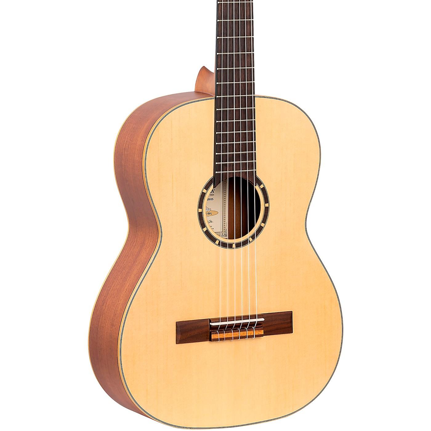 Ortega Family Series R121-7/8-L 7/8 Size Classical Guitar thumbnail