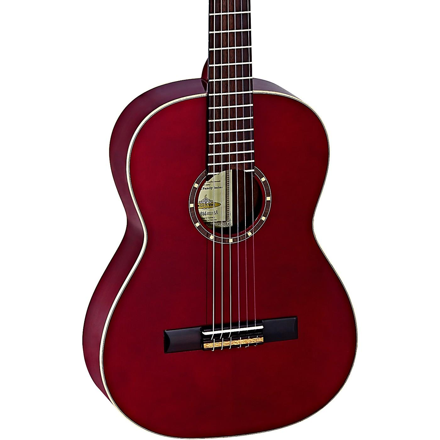 Ortega Family Series R121-7/8WR 7/8 Size Classical Guitar thumbnail