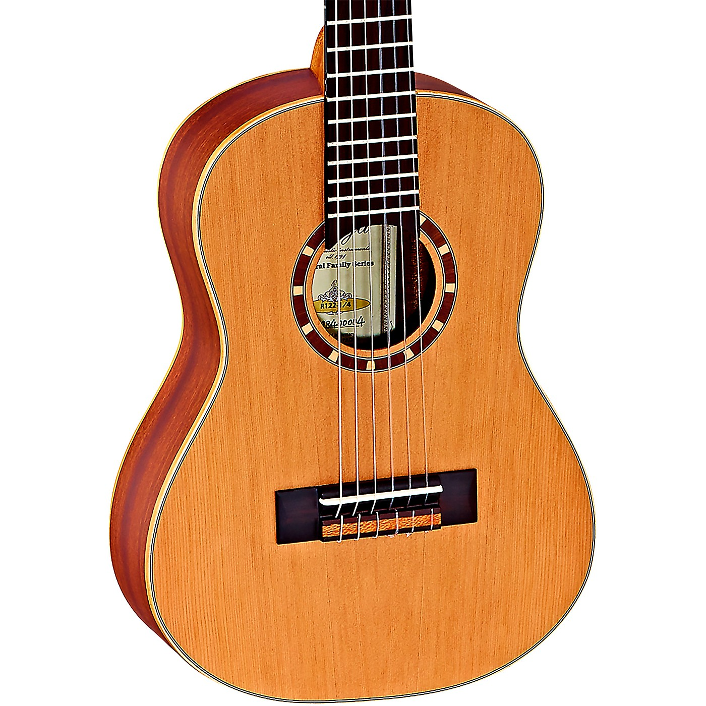 Ortega Family Series R122-1/4 1/4 Size Classical Guitar thumbnail