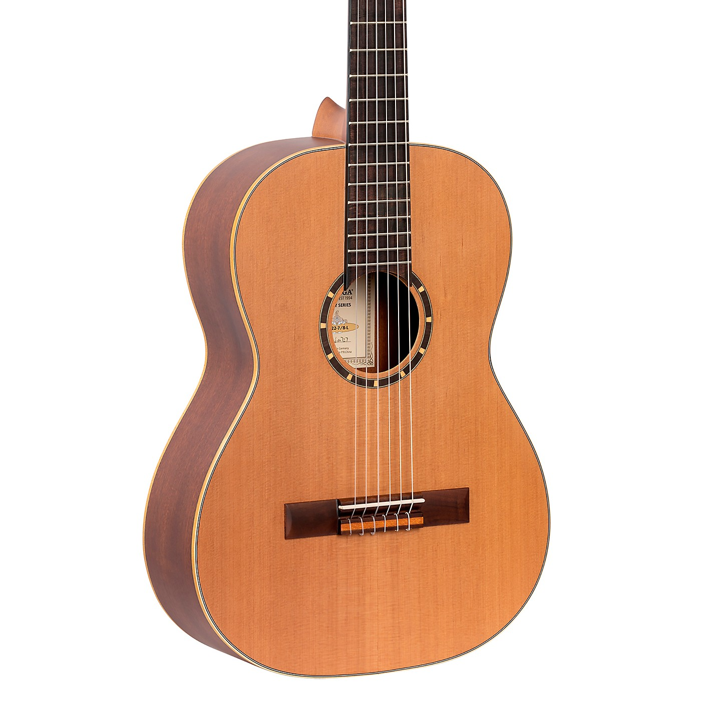 Ortega Family Series R122-7/8-L 7/8 Size Classical Guitar thumbnail