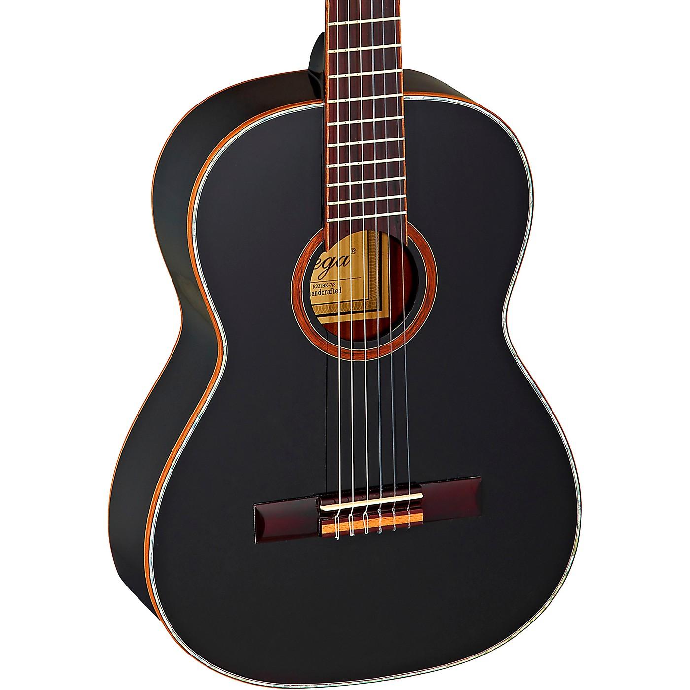 Ortega Family Series R221BK-7/8 7/8 Size Classical Guitar thumbnail