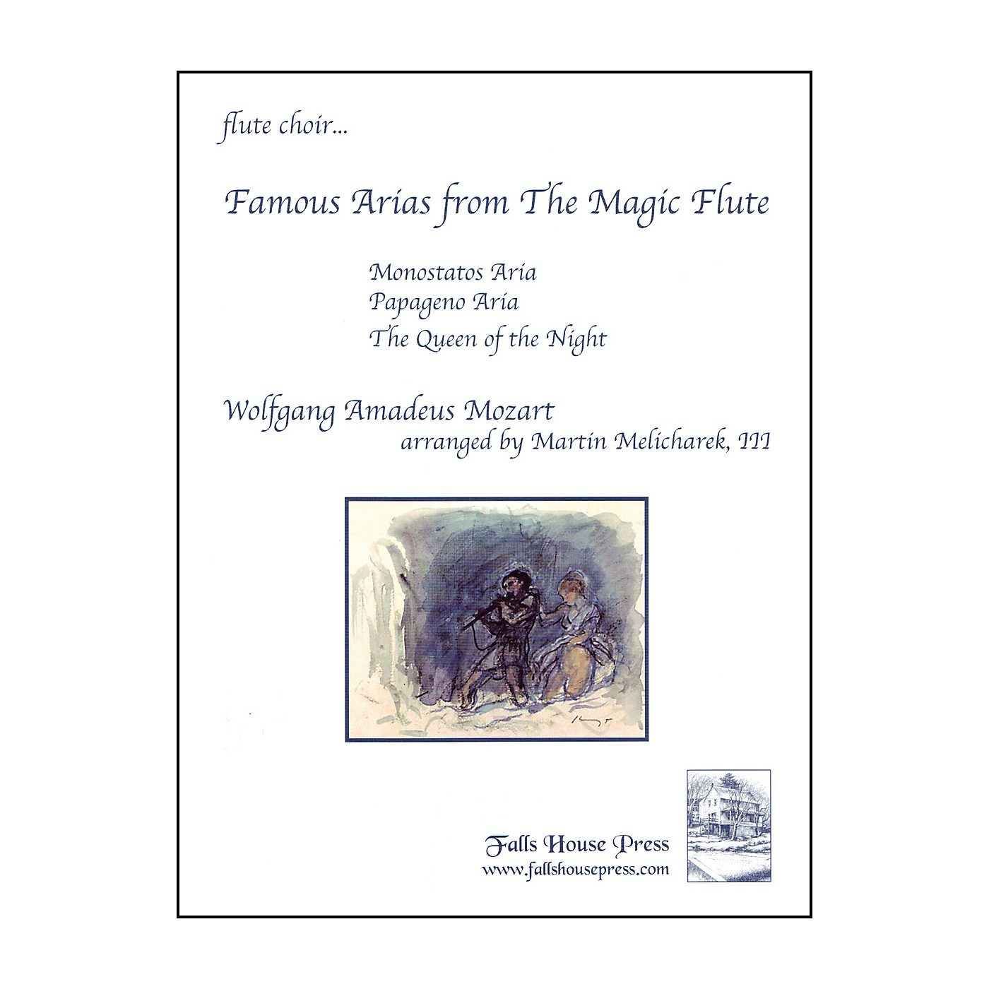 Carl Fischer Famous Arias from the Magic Flute Book thumbnail