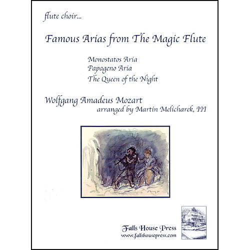 Carl Fischer Famous Arias from the Magic Flute Book-thumbnail
