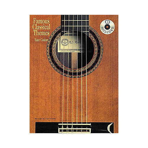 Creative Concepts Famous Classical Themes for Easy Guitar Book thumbnail