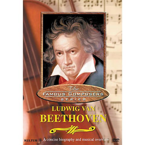 Kultur Famous Composers Ludwig Van Beethoven DVD thumbnail