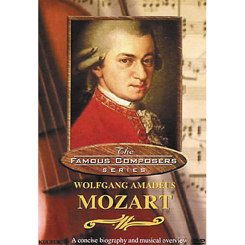 Kultur Famous Composers Wolfgang Mozart DVD thumbnail