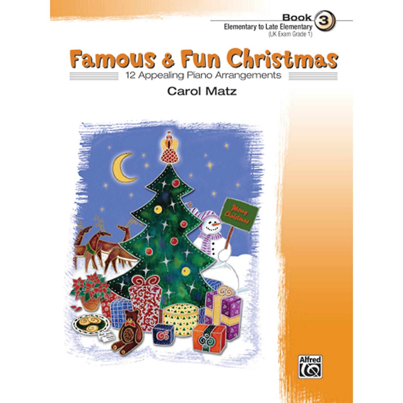 Alfred Famous & Fun Christmas Book 3 thumbnail