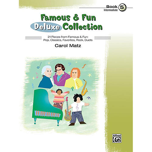 Alfred Famous & Fun Deluxe Collection Intermediate Book 5 thumbnail