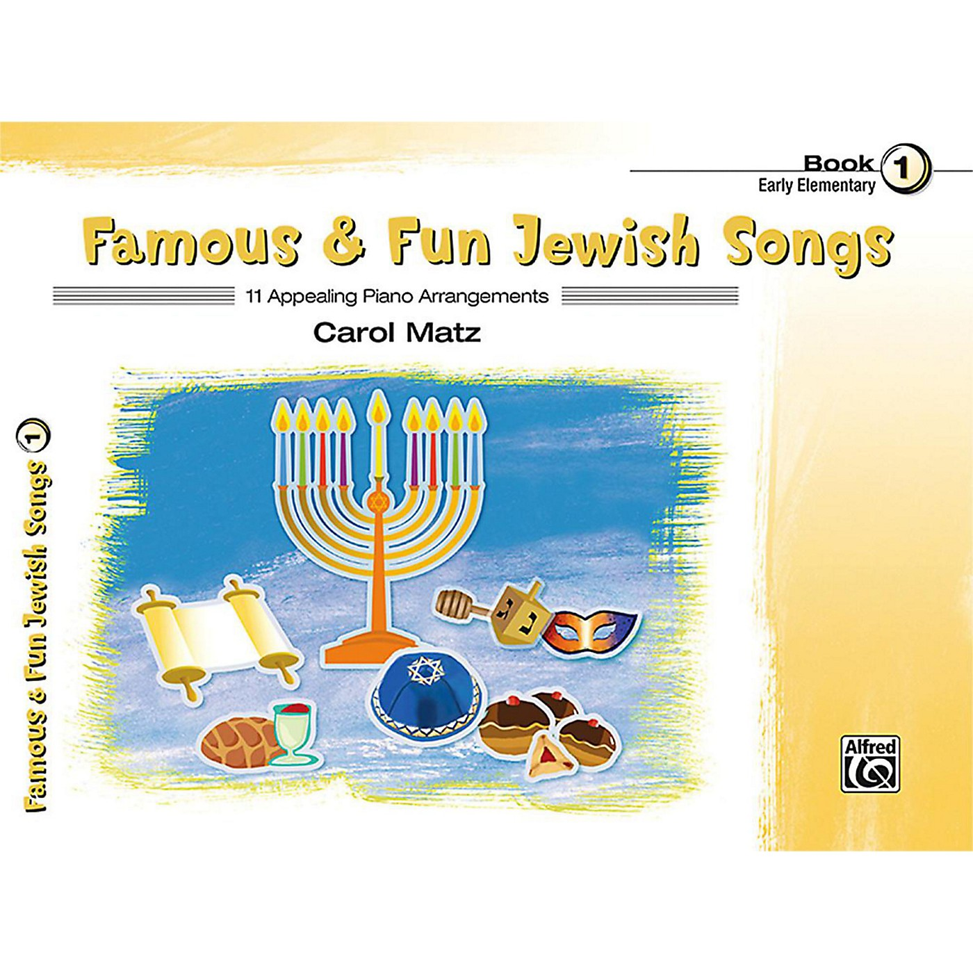 Alfred Famous & Fun Jewish Songs, Book 1 Early Elementary thumbnail