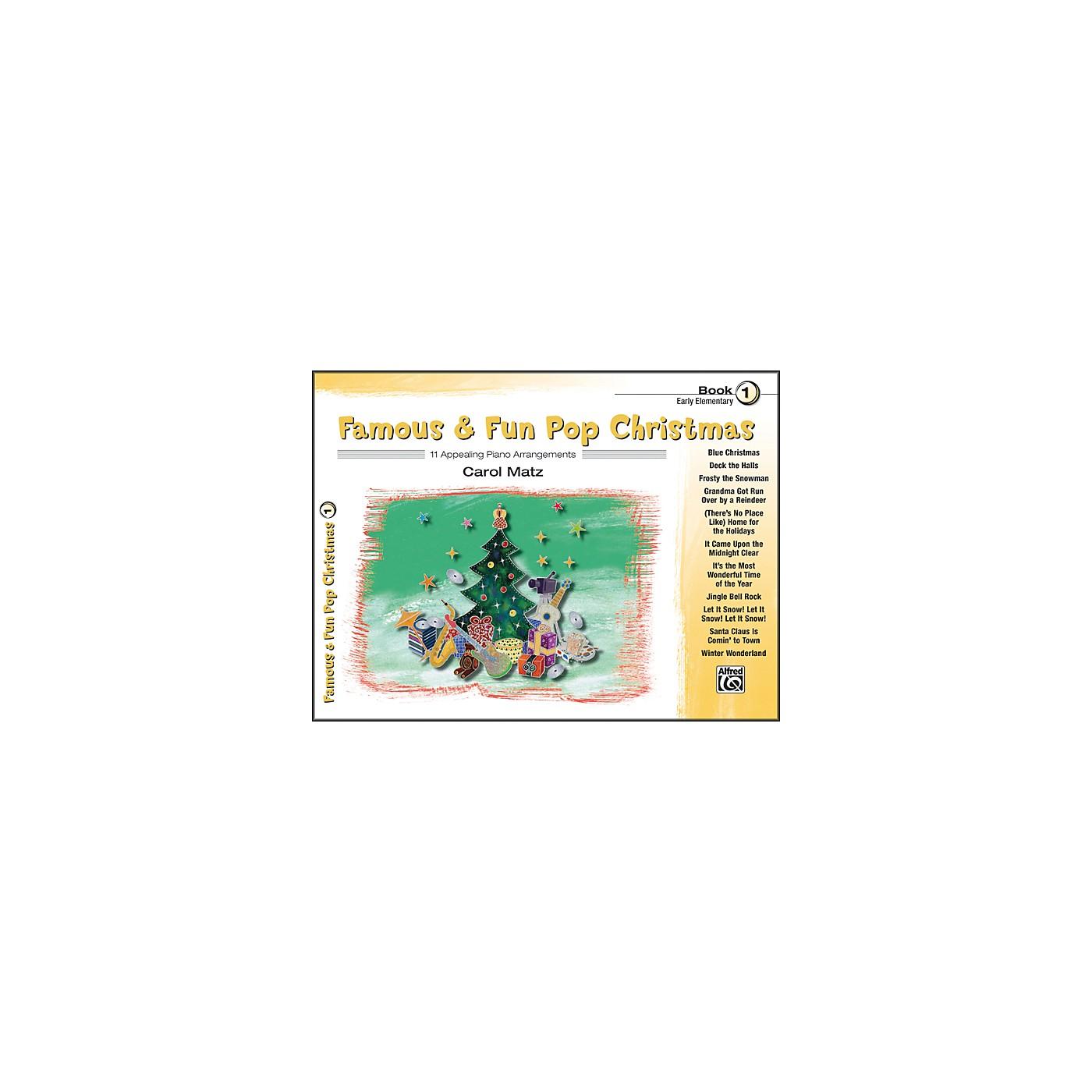 Alfred Famous & Fun Pop Christmas Book 1 thumbnail