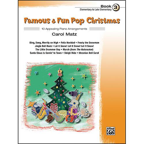 Alfred Famous & Fun Pop Christmas Book 3 thumbnail