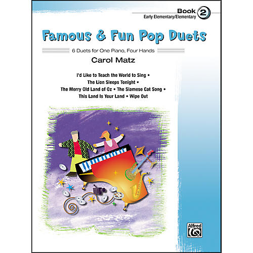 Alfred Famous & Fun Pop Duets Book 2 thumbnail
