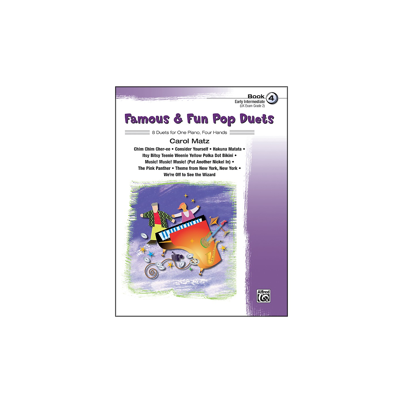 Alfred Famous & Fun Pop Duets Book 4 Book 4 thumbnail