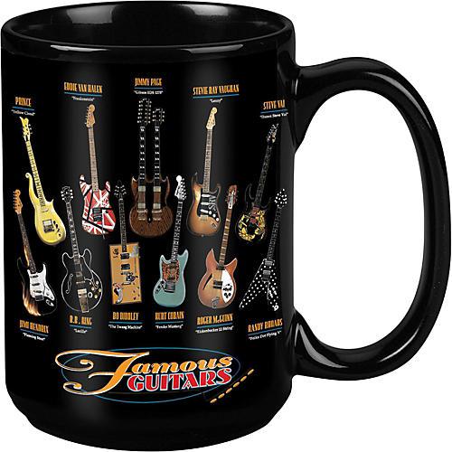 Taboo Famous Guitars Black Mug 15 oz thumbnail