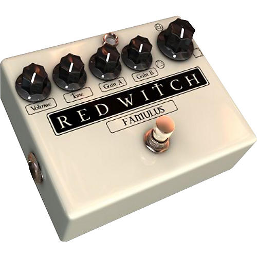 Red Witch Famulus Distortion Guitar Effects Pedal thumbnail