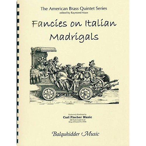 Carl Fischer Fancies on Italian Madrigals Book-thumbnail