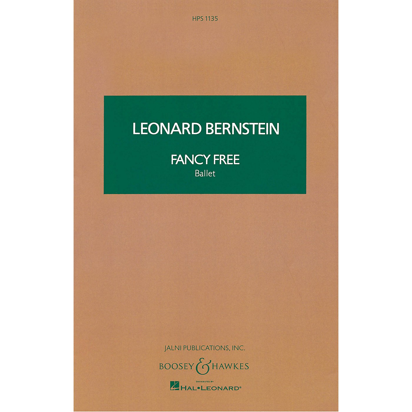 Boosey and Hawkes Fancy Free (Ballet) Boosey & Hawkes Scores/Books Series Composed by Leonard Bernstein thumbnail