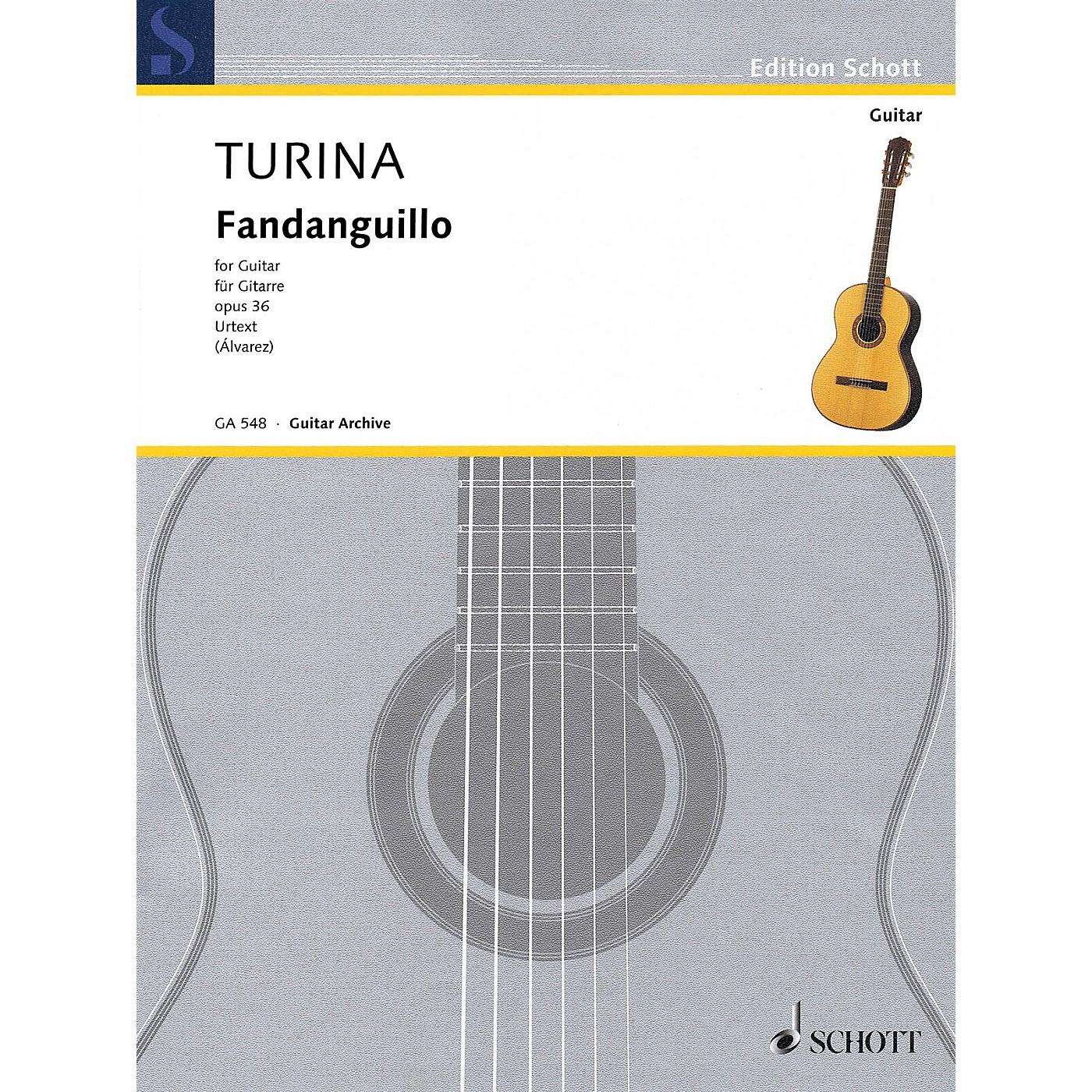 Hal Leonard Fandanguillo, Op. 36 (Guitar) Schott Series Softcover thumbnail