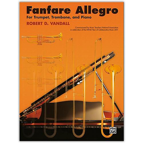 Alfred Fanfare Allegro Trumpet, Trombone & Piano Intermediate thumbnail