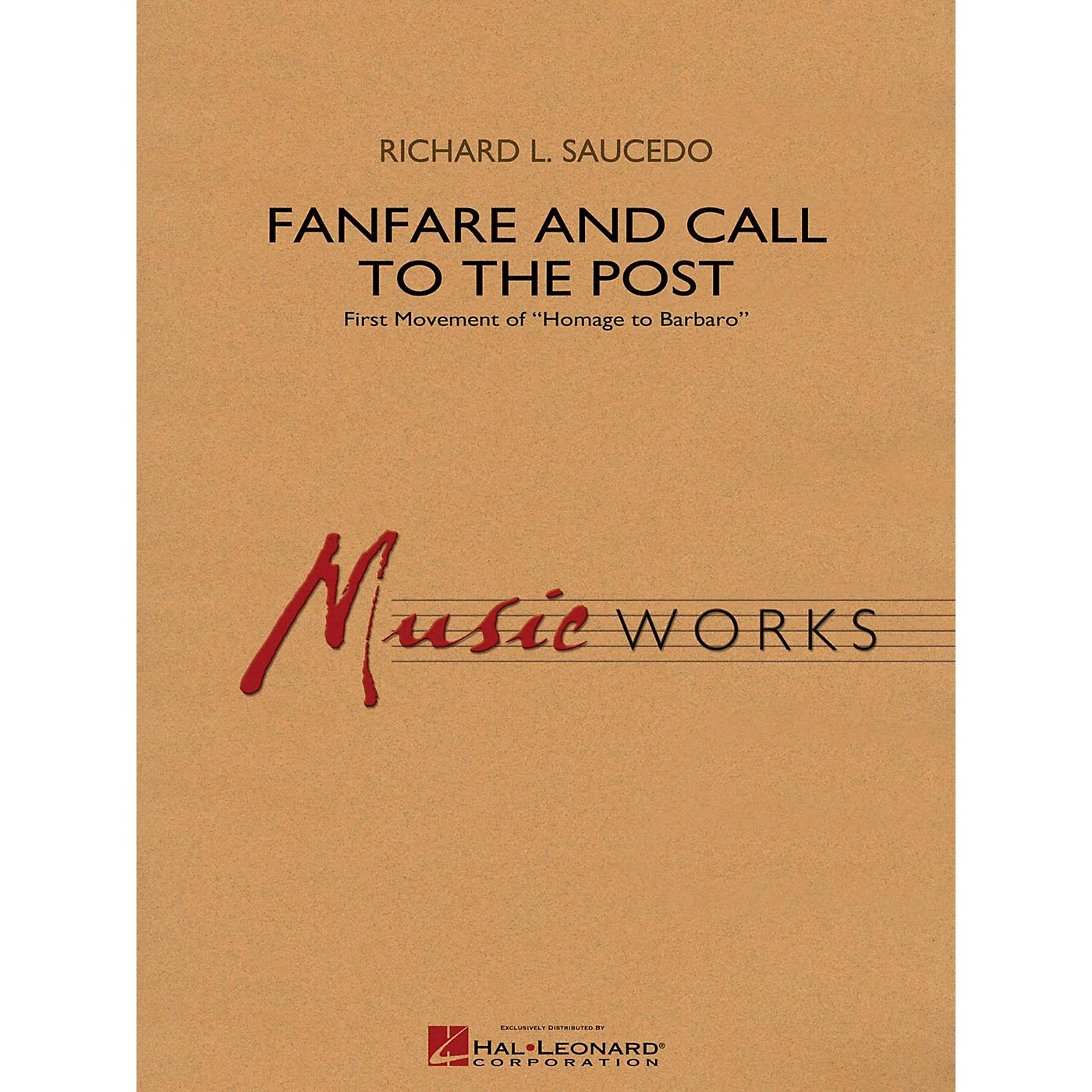 Hal Leonard Fanfare and Call to the Post - MusicWorks Grade 4 Concert Band thumbnail