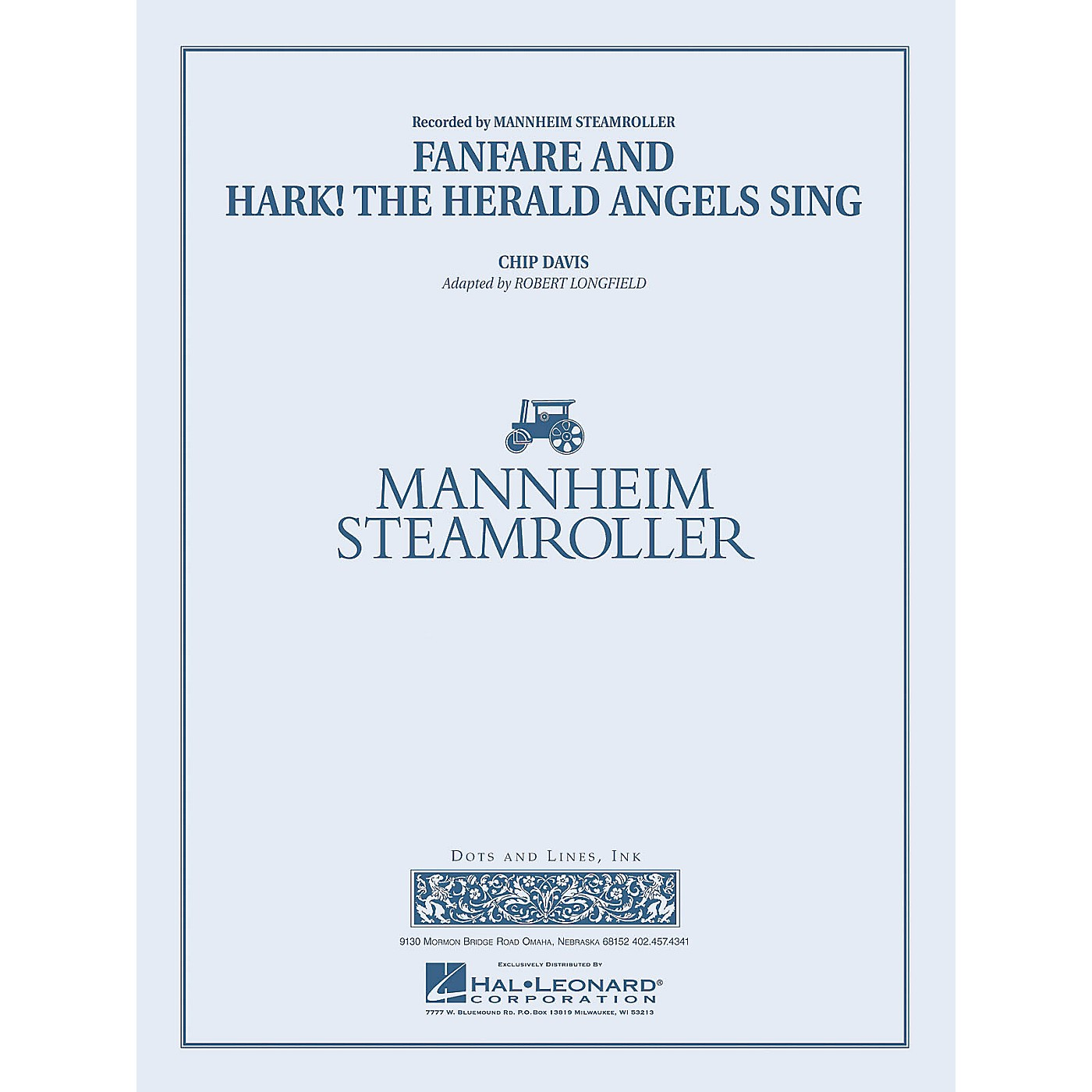 Mannheim Steamroller Fanfare and Hark! The Herald Angels Sing Concert Band Level 4 by Mannheim Steamroller by Longfield thumbnail