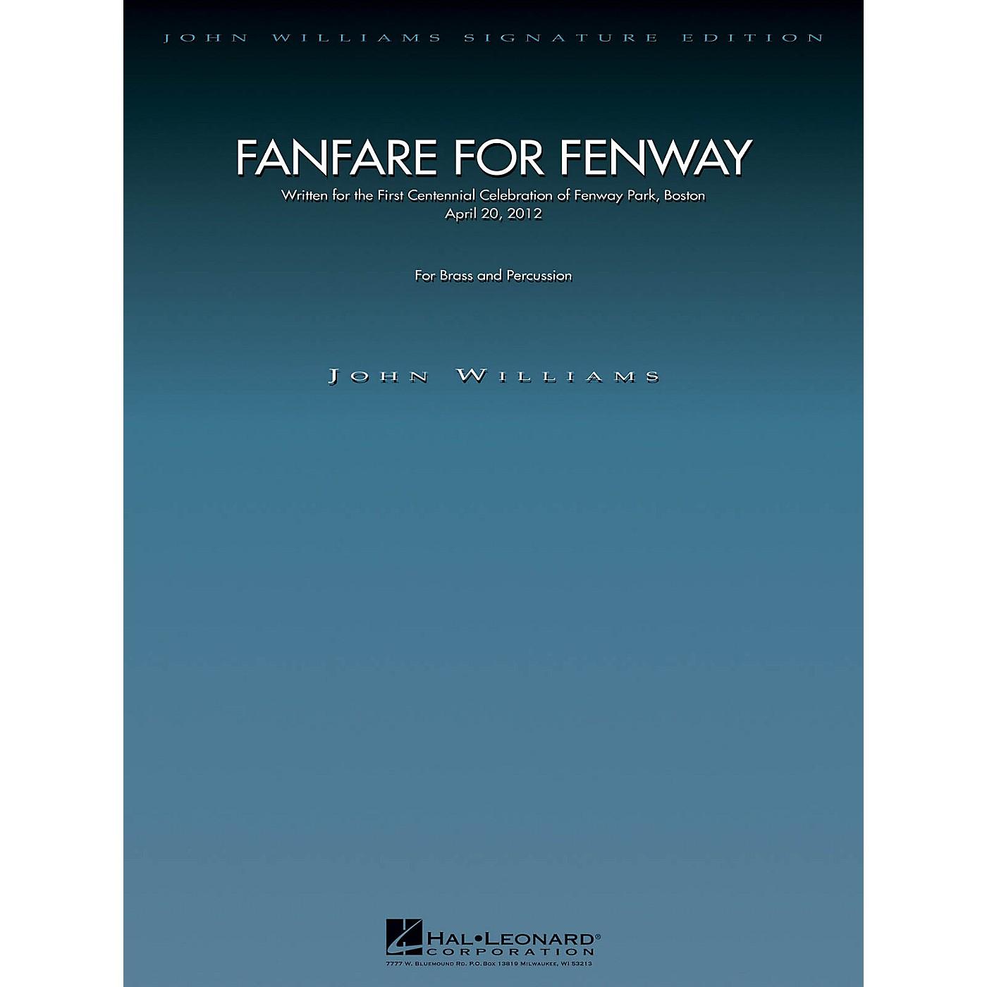 Hal Leonard Fanfare for Fenway John Williams Signature Edition - Brass Series by John Williams thumbnail