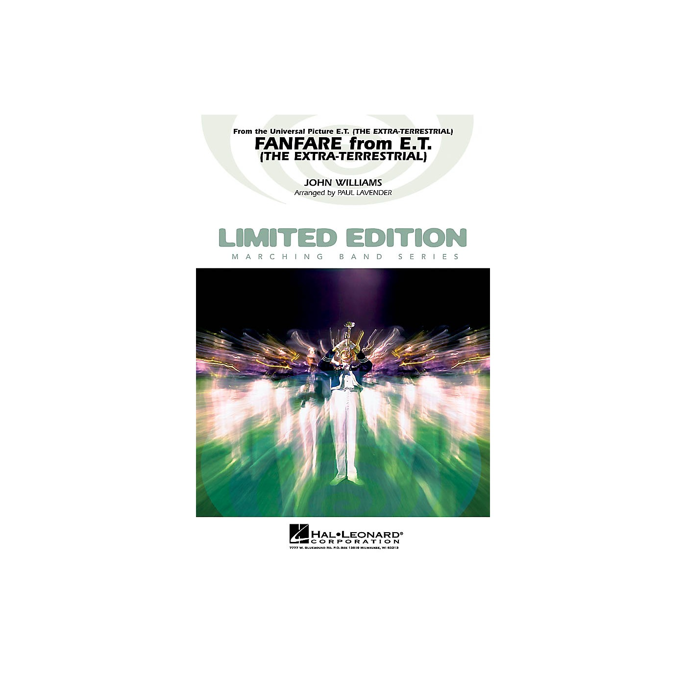 Hal Leonard Fanfare from E.T. The Extra-Terrestrial Marching Band Level 4 Arranged by Paul Lavender thumbnail