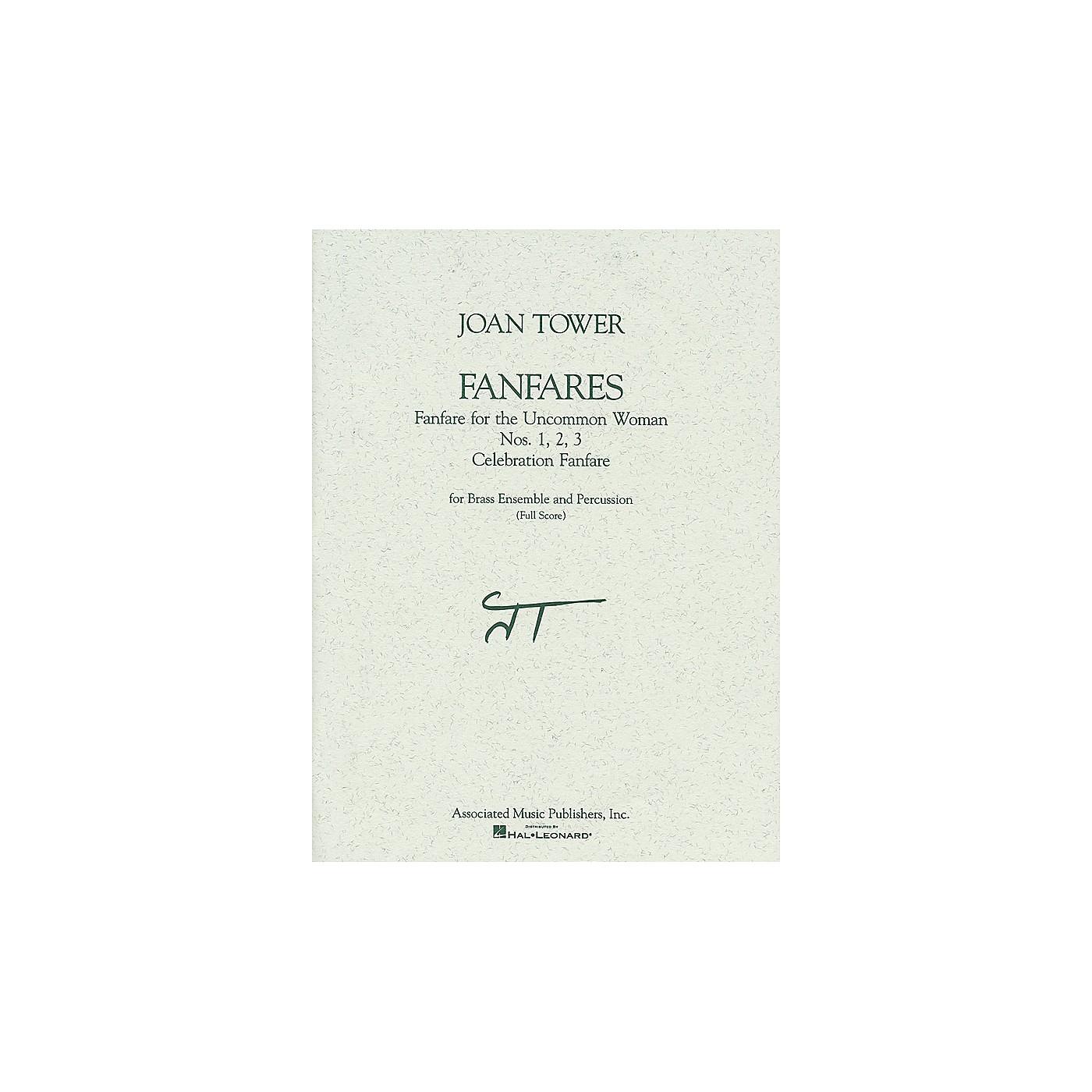 Associated Fanfares (Full Score) Full Score Series by Joan Tower Edited by Daniel Forlano thumbnail