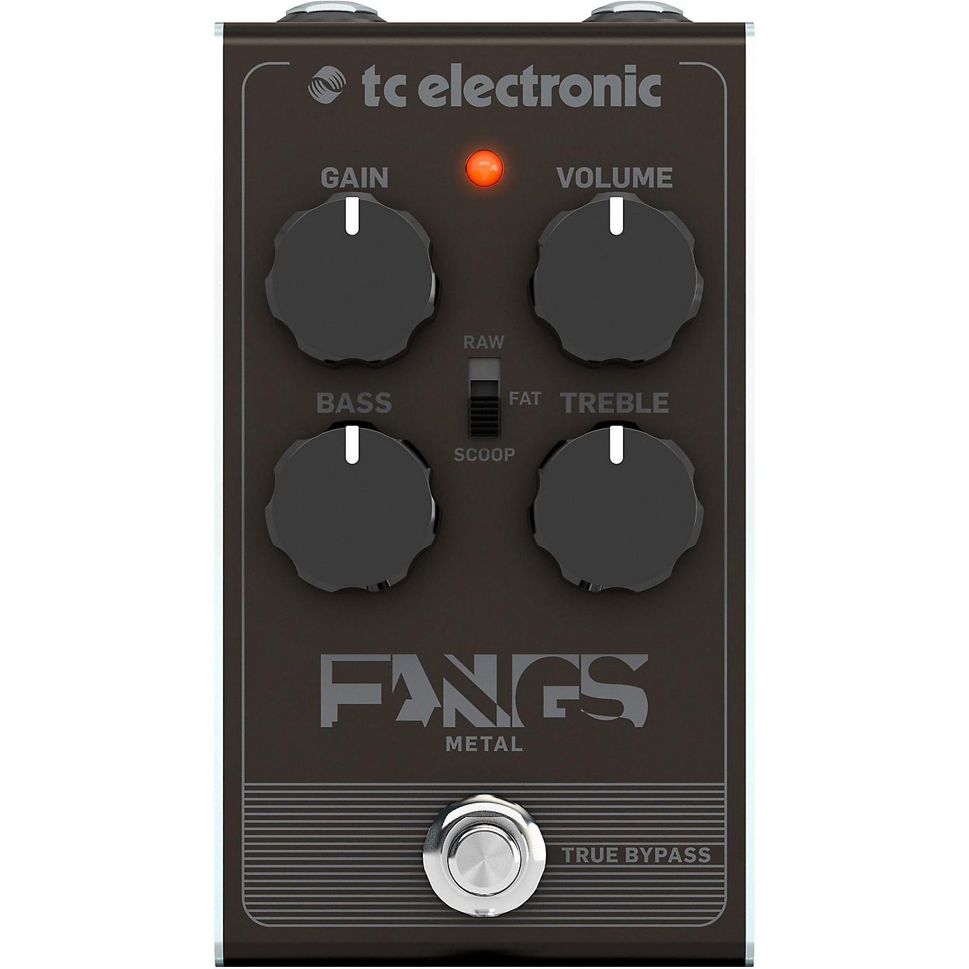 TC Electronic Fangs Metal Distortion Effects Pedal thumbnail
