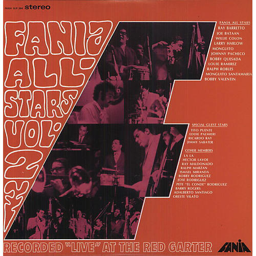 Alliance Fania All-Stars - Live At The Red Garter, Vol. 2 thumbnail