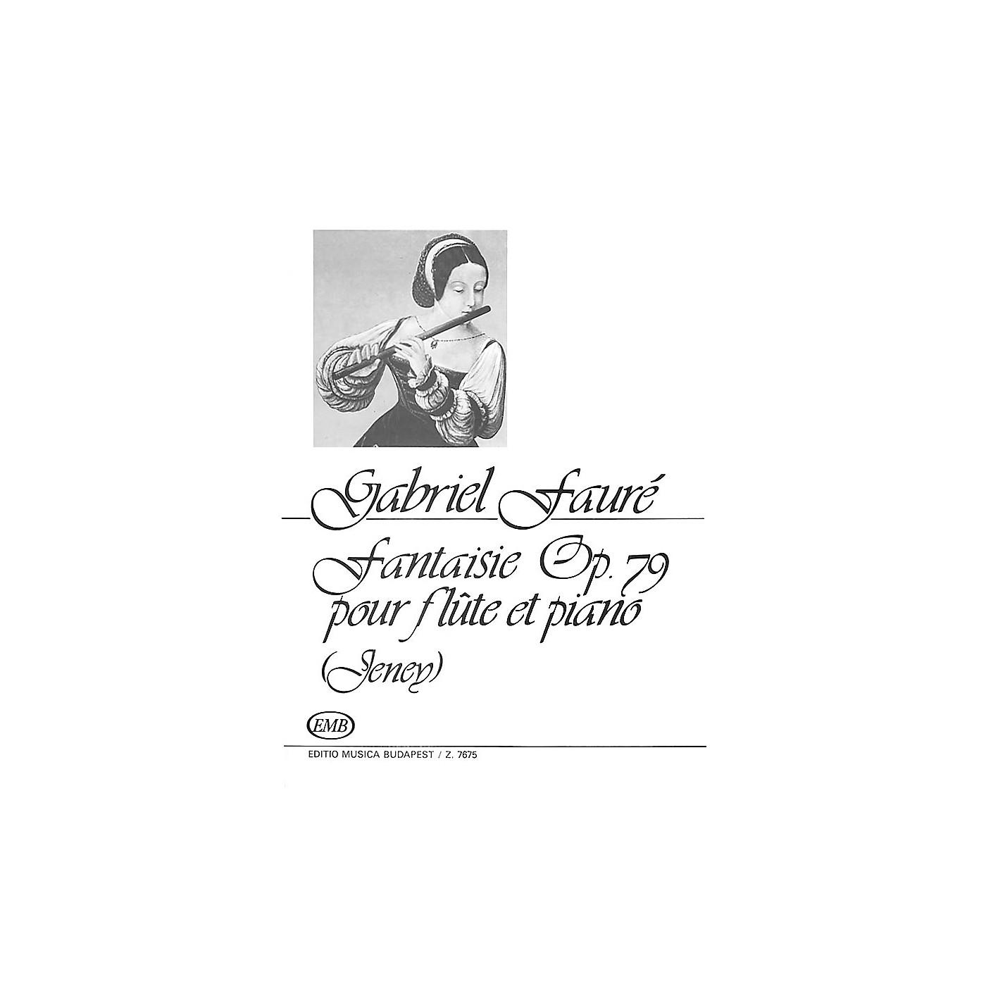 Editio Musica Budapest Fantaisie Op.79 EMB Series by Gabriel Fauré thumbnail