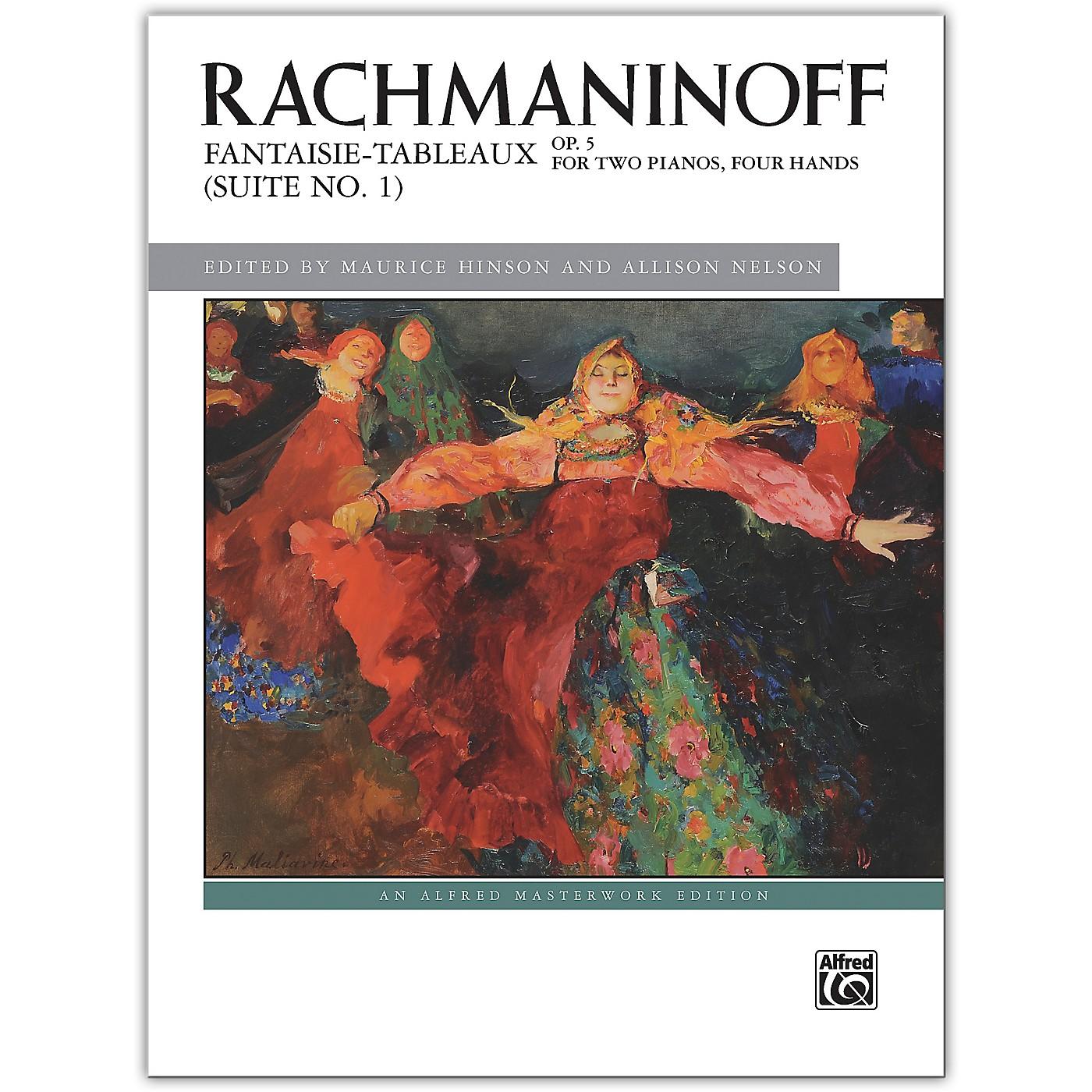 Alfred Fantaisie-tableaux (Suite No. 1), Op. 5 Advanced thumbnail