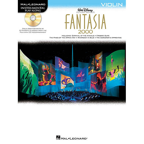 Hal Leonard Fantasia 2000 For Violin - Instrumental Play-Along Book/CD thumbnail