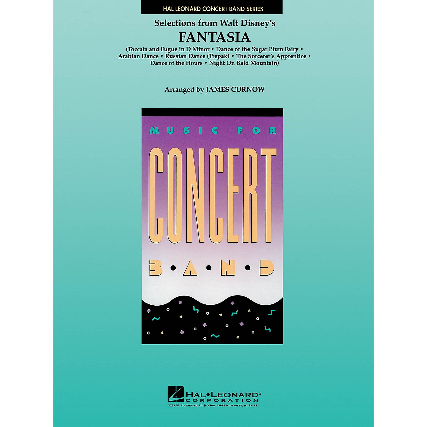Hal Leonard Fantasia, Selections from Concert Band Level 4 Arranged by James Curnow thumbnail
