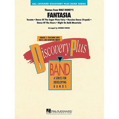 Hal Leonard Fantasia, Themes from - Discovery Plus Concert Band Series Level 2 arranged by Johnnie Vinson thumbnail