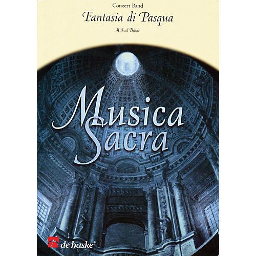De Haske Music Fantasia di Pasqua Full Score Concert Band Level 2.5 Composed by Michael Bilkes thumbnail