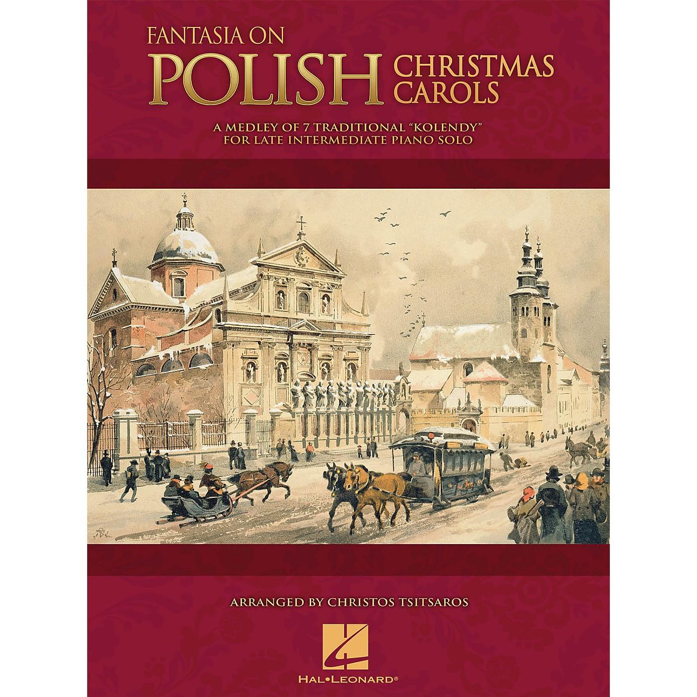 Hal Leonard Fantasia on Polish Christmas Carols Educational Piano Solo Series Book (Level Late Inter) thumbnail