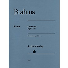 G. Henle Verlag Fantasies Op. 116 (Solo Piano) Henle Music Folios Series Softcover