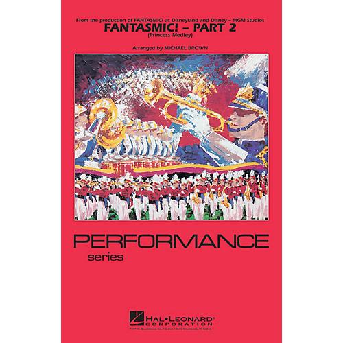 Hal Leonard Fantasmic! - Part 2 (Princess Medley) Marching Band Level 3-4 Arranged by Michael Brown thumbnail